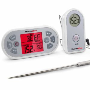 ThermoPro TP21 Digital Wireless Meat Cooking BBQ Thermometer