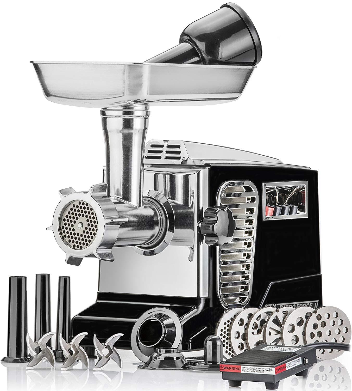 Electric Meat Grinder - Size #12 - Model STX-4000
