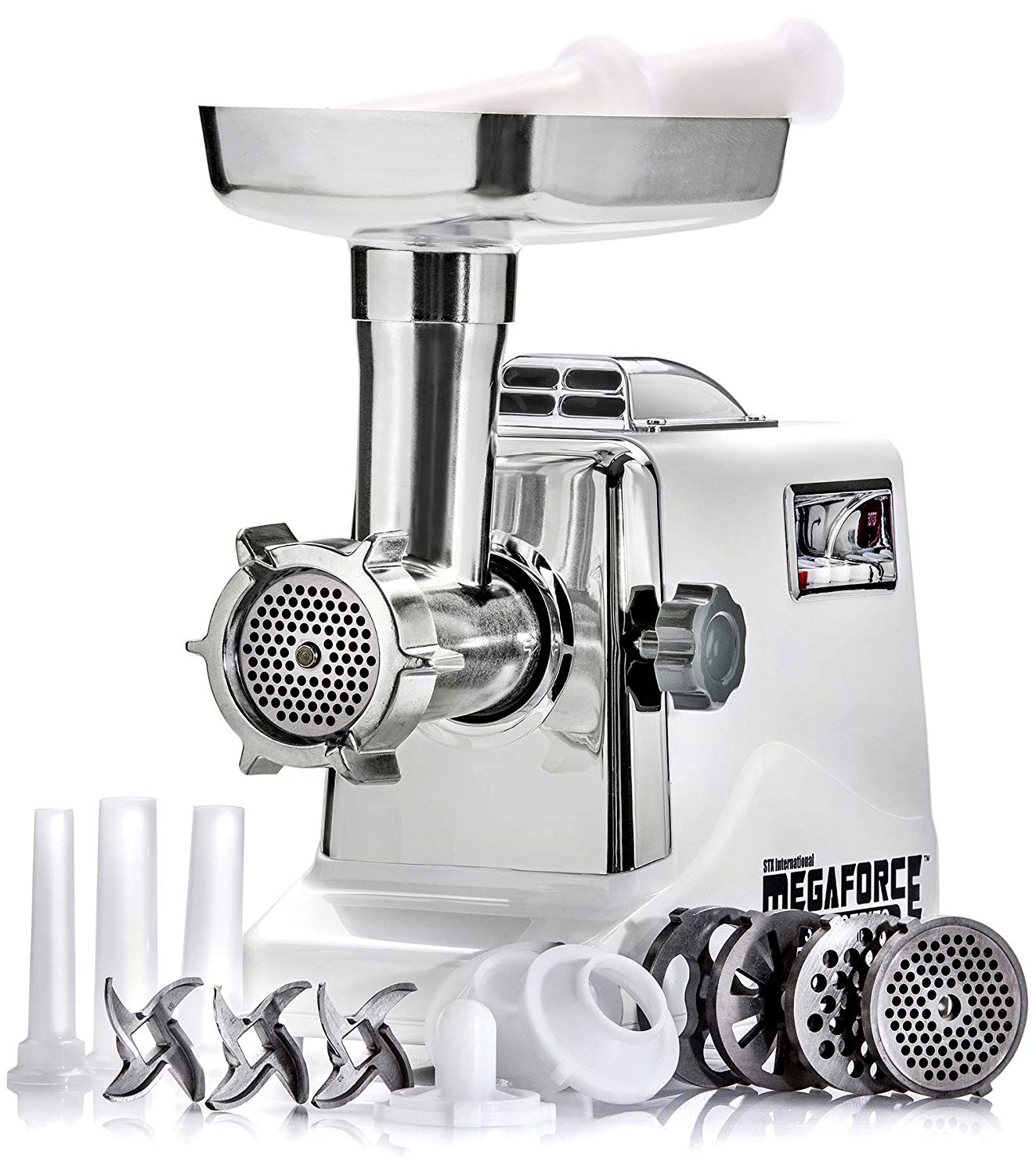 STX International Megaforce Heavy Duty 1200W Electric Meat Grinder