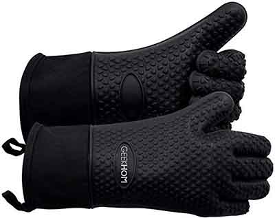 gloves with heat resistant